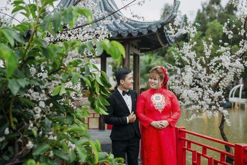 áo dài cưới big size