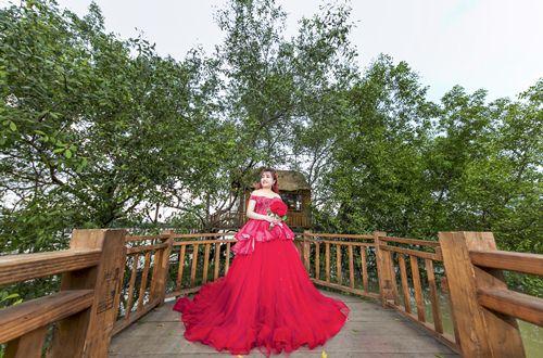 áo cưới dành cho cô dâu mập